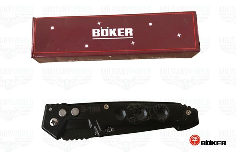 Xiezi Scorpion Boker 440 steel snap