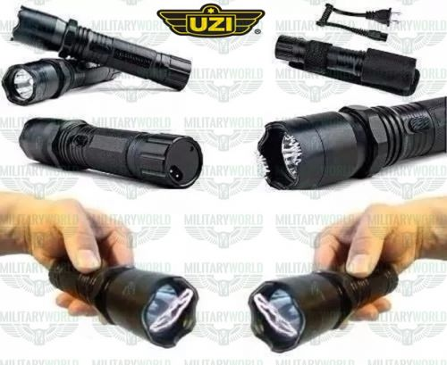 Mini Flashlight LED ZOOM White Light 10000w Lumens Rechargeable Battery and Charger