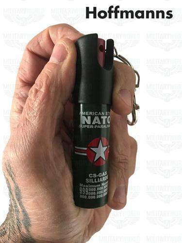 c80db6959bb Anti-Aggressionsspray mit amerikanischem NATO-Schlüsselring 20 ml.