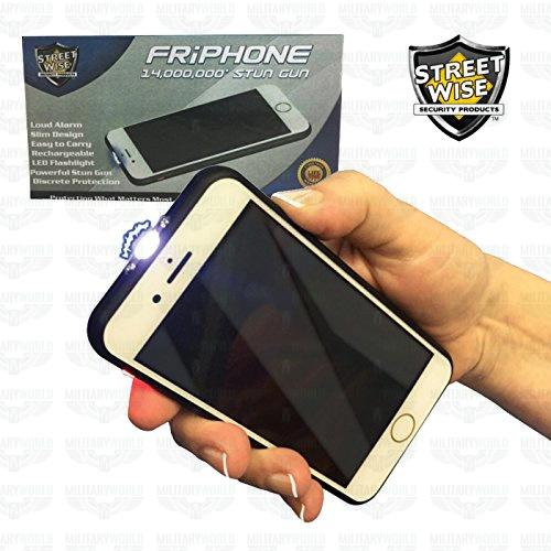 Stun Gun FriPhone from 14,000,000 volts 3in1 ultra-flat