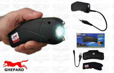 Stun Gun Ghepard TW-309 with 2.500.000 volts current discharge, with blinding torch
