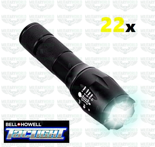 5in1 Zoom High Power Taclight Taschenlampe