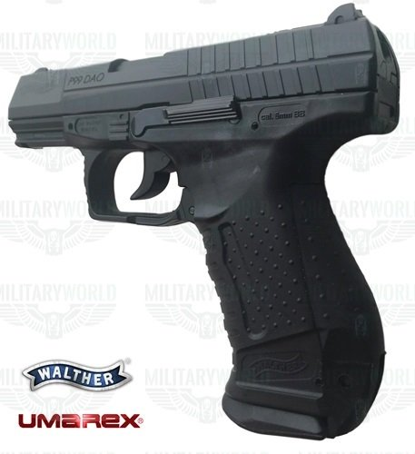 Umarex Walther P99 Dao Full Metal Blowback To Co2 Power 4 Joules